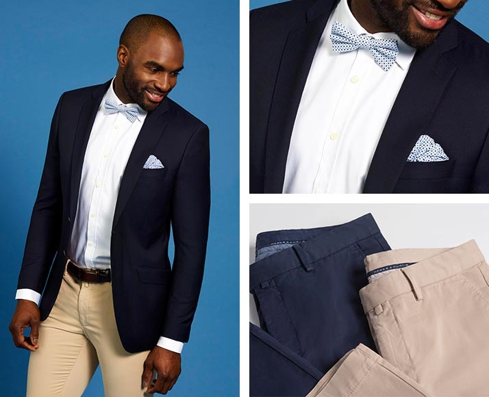 Men Blazer Mix with Chino - Hawes & Curtis