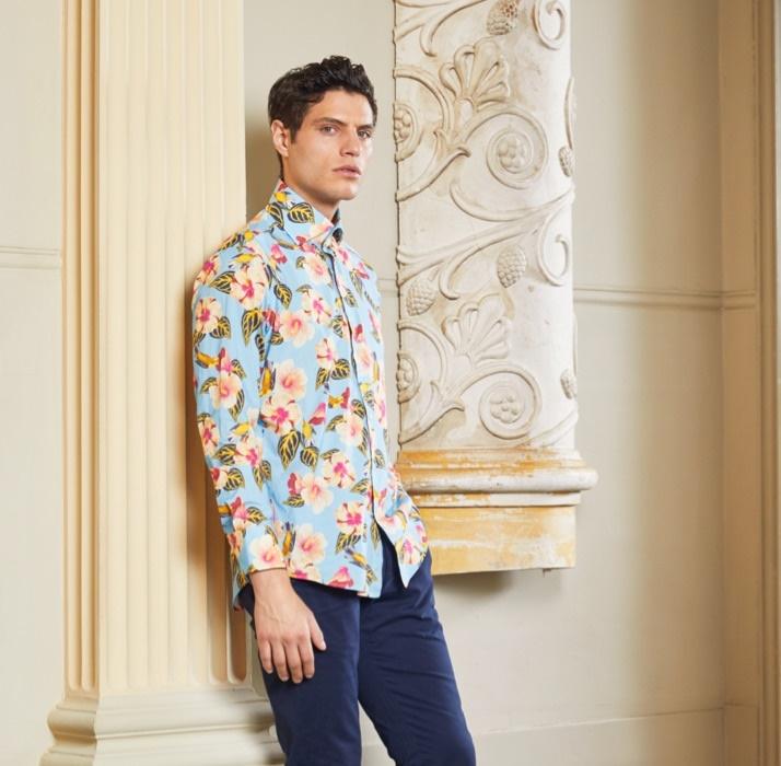 Freizeithemden mit außergwöhnlichen Mustern