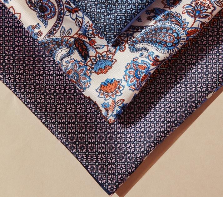 Einstecktücher für die Brusttasche Ihres Sakkos.