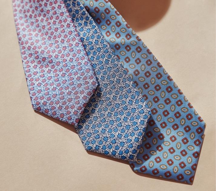 Krawatten aus reiner Seide für den modernen Businesslook.