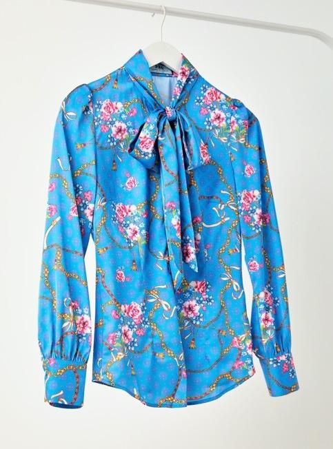 Schluppenblusen aus edlem Satin bei Hawes & Curtis im Online Shop bestellen.