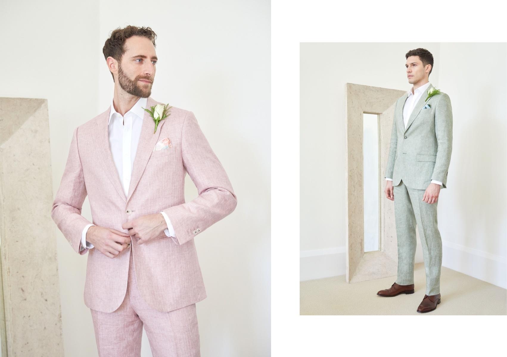 Luxurious Linen Suits