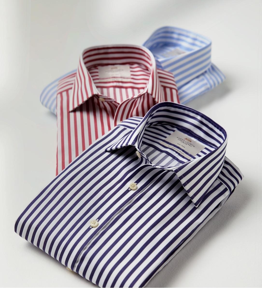 Hemden für Arbeit und Freizeit von Hawes & Curtis.