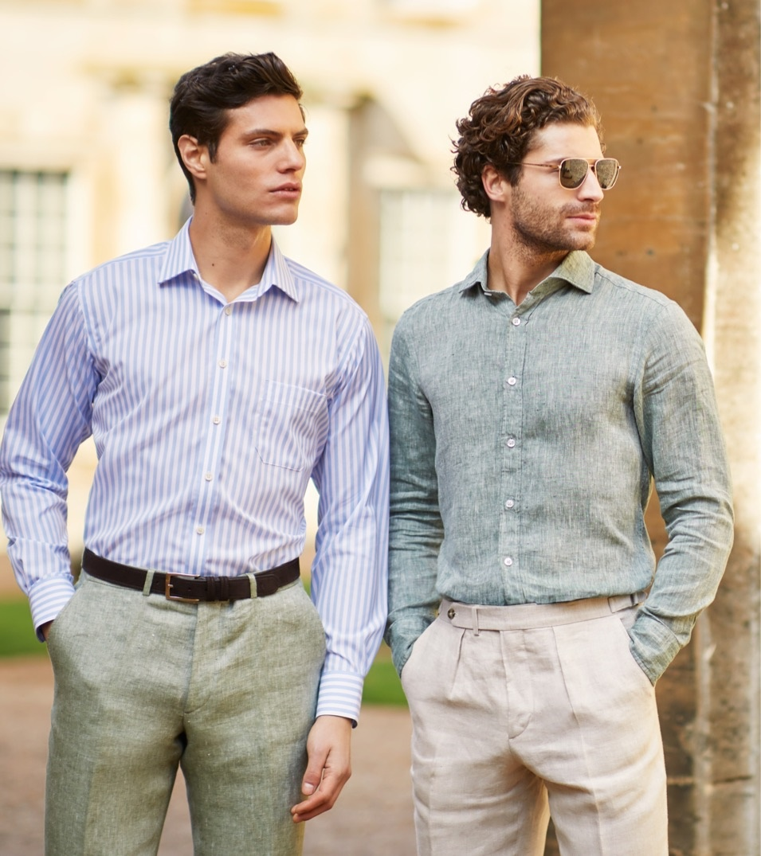 Freizeitmode hochwertug verarbeitet für sportlich elegante Looks im smart casual Style.