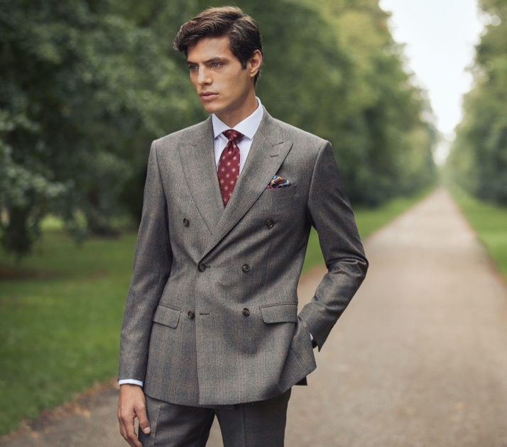 Anzüge in Extra Slim Fit, Slim Fit & Tailored Fit in Premiumqualität von der englischen Traditionsmarke Hawes & Curtis.