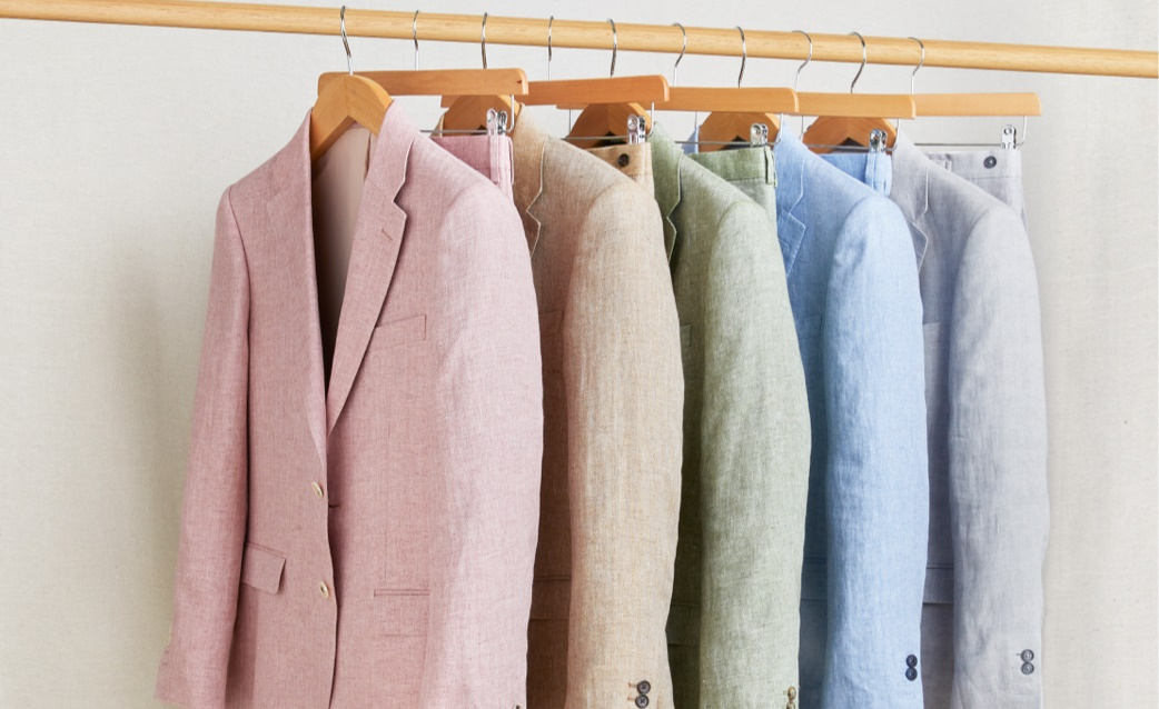 Men's Linen Suits | Hawes and Curtis