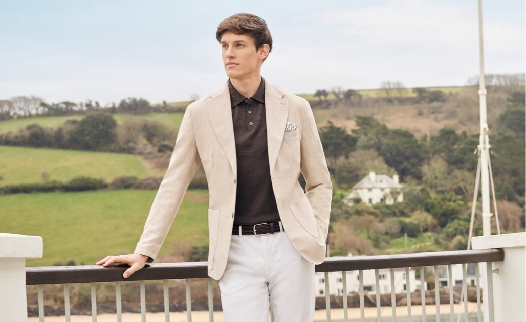 Men Linen Jackets Collection | Hawes and Curtis