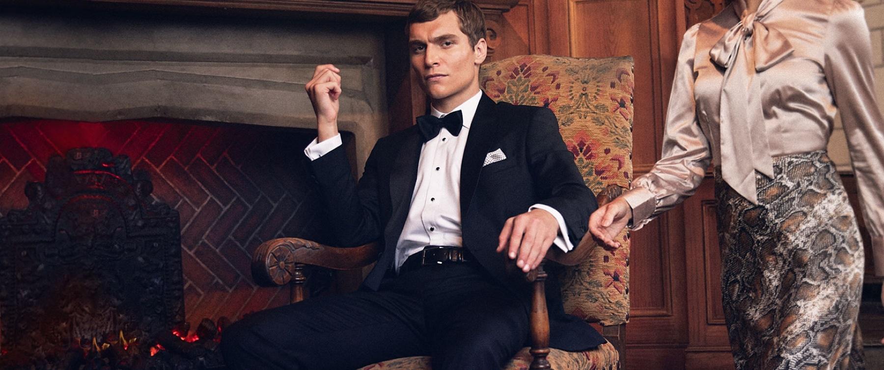 hawes & curtis| dresscode black tie: ein style-guide für herren