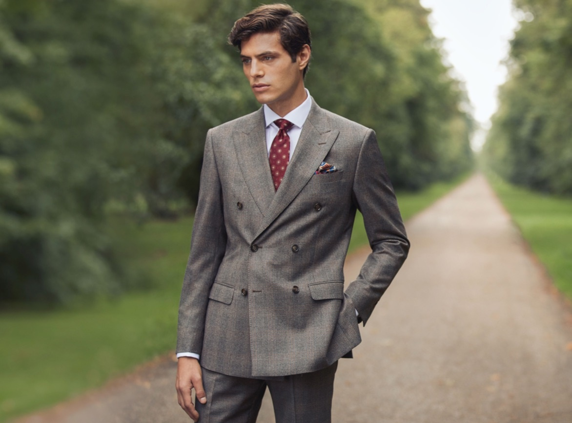 Double Breasted Suit for Men | Hawes & Curtis | UK
