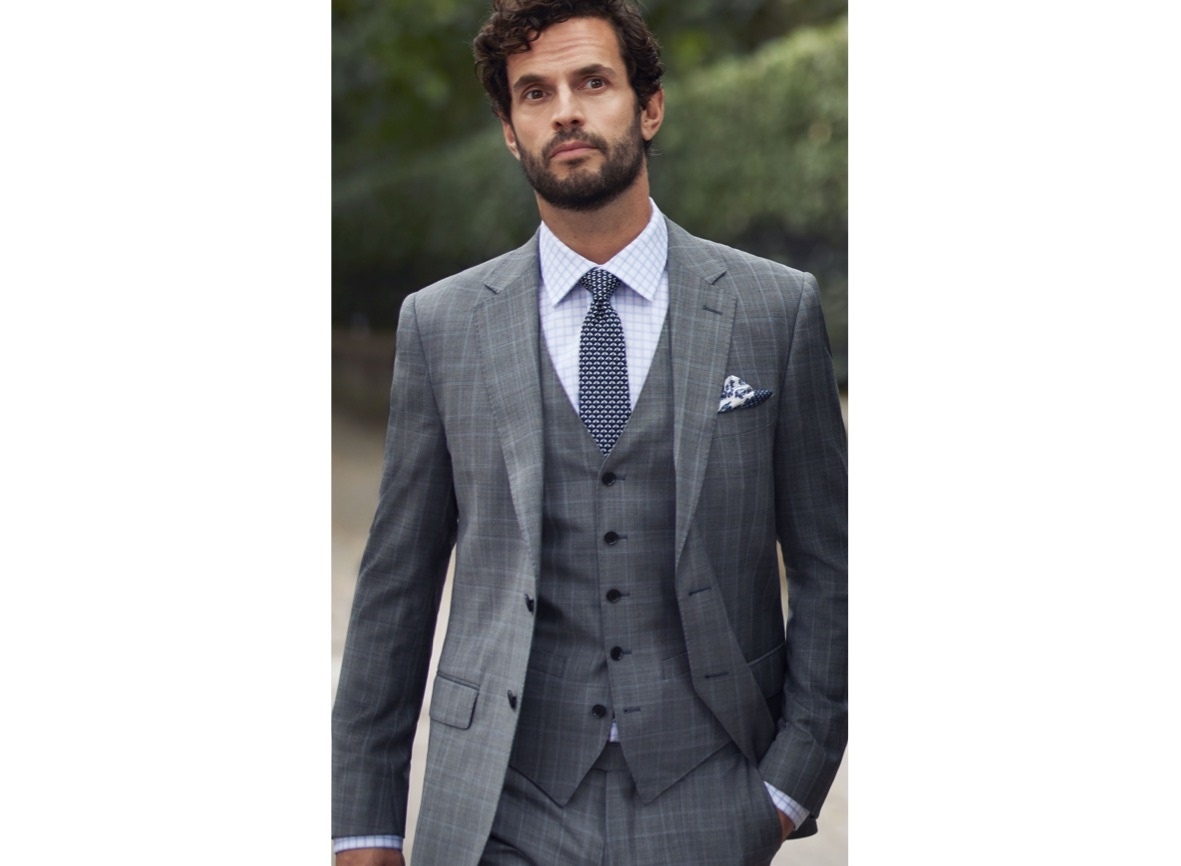 Check Suits for Men | Hawes & Curtis ! UK