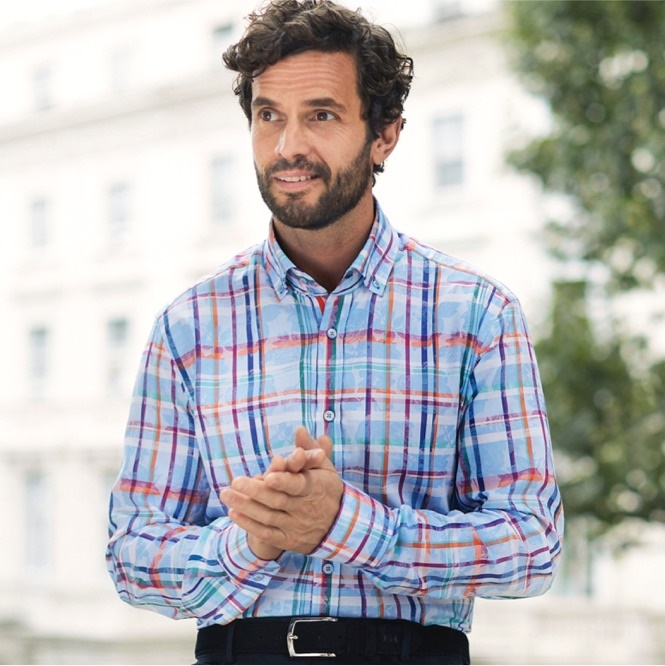 Mens Stripe Shirts | Hawes & Curtis | UK