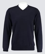 Men's Black Sweater | Hawes & Curtis | UK