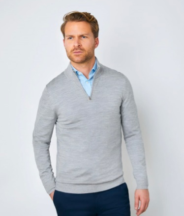 Italian merino wool jumper   Hawes and Curtis