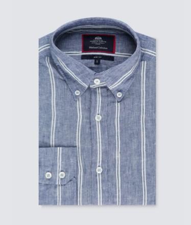Men linen shirt   Hawes and Curtis