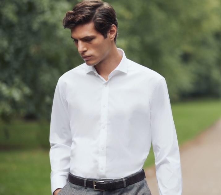 White Shirt for Men | Hawes & Curtis | UK