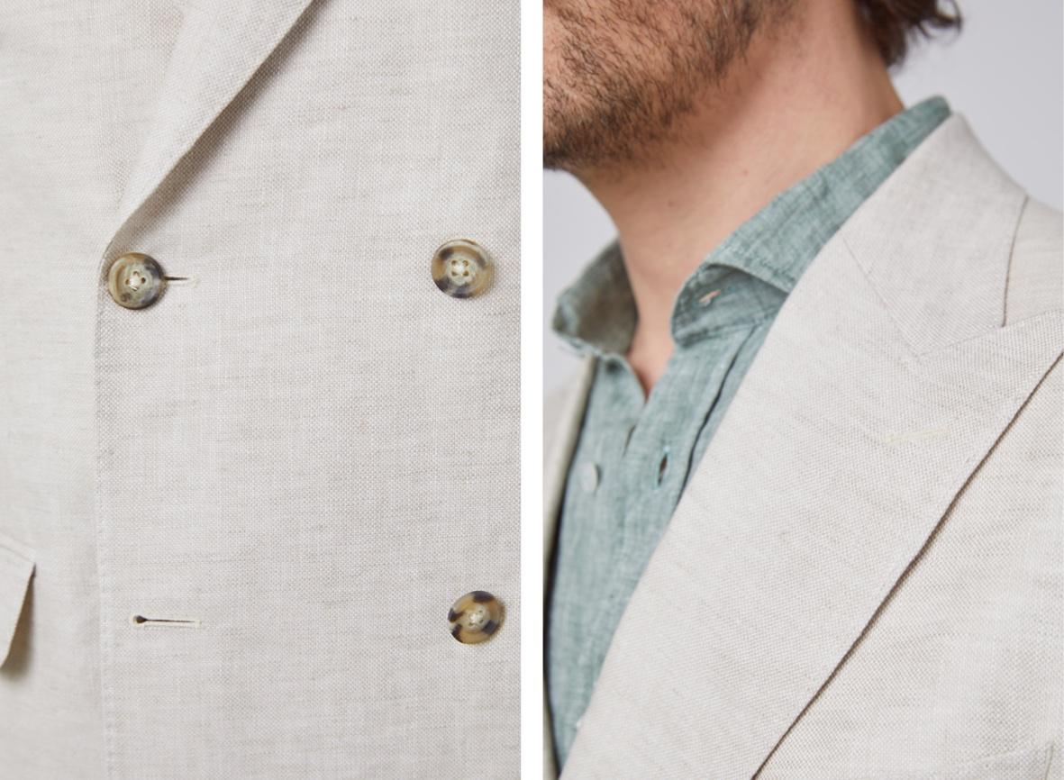 Linen Blazer for men | hawes & Curtis | UK