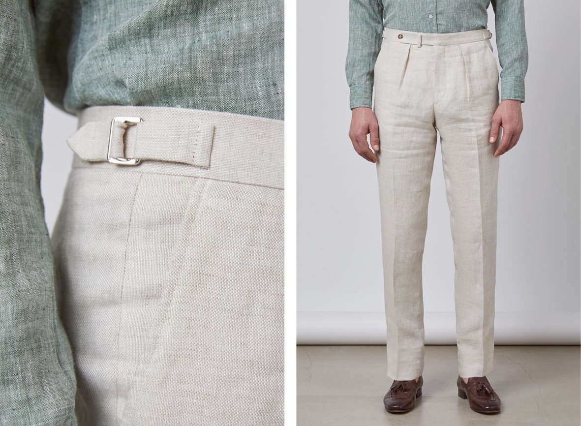 Pleated Trousers for Men | Hawes & Curtis | UK