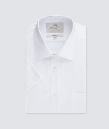 Smart Short Sleeve Shirt | Hawes and Curtis