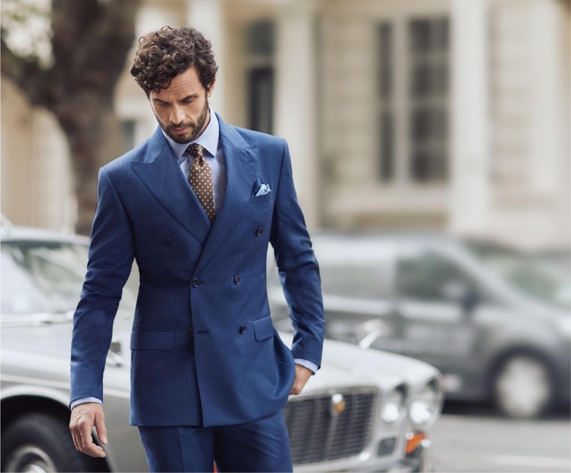 Slim Fit Suits for Men | Hawes & Curtis | UK