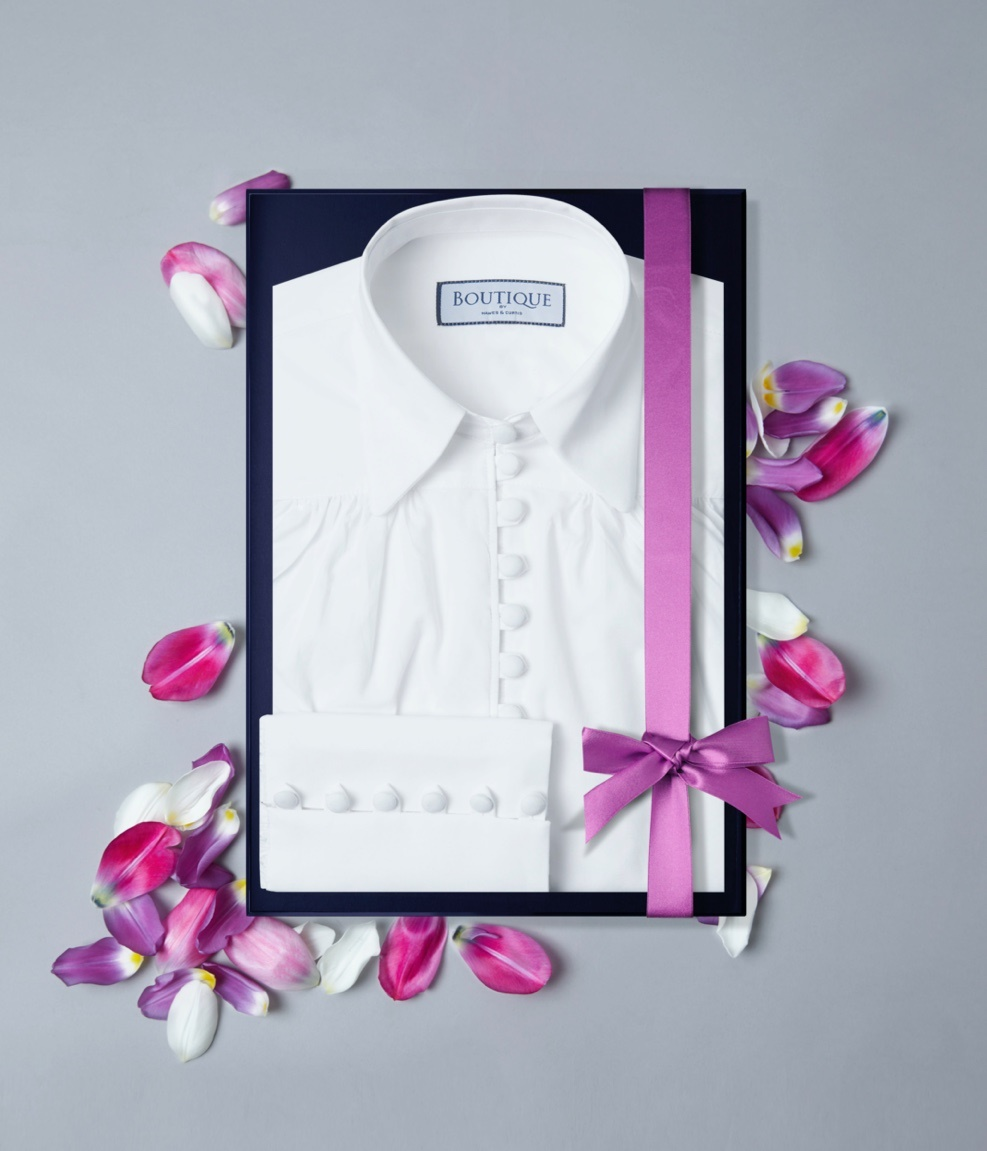 Perfect white shirt for mom