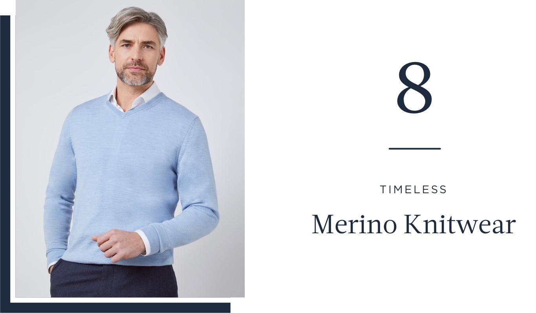 Merino Knitwear - Hawes & Curtis