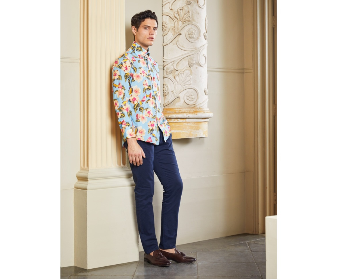 Floral Shirts for Men - Summer 2020 Collection - Hawes & Curtis