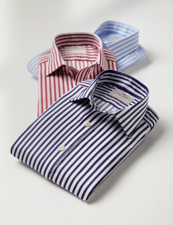 Stripped Shirts for Men - Summer 2020 Collection - Hawes & Curtis