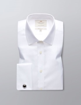 Perfect white shirt for men - Hawes & Curtis