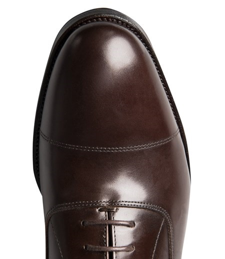 Businessschuh Oxford Braun