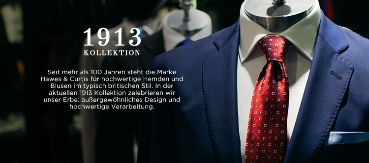 1913 Kollektion von Hawes and Curtis.