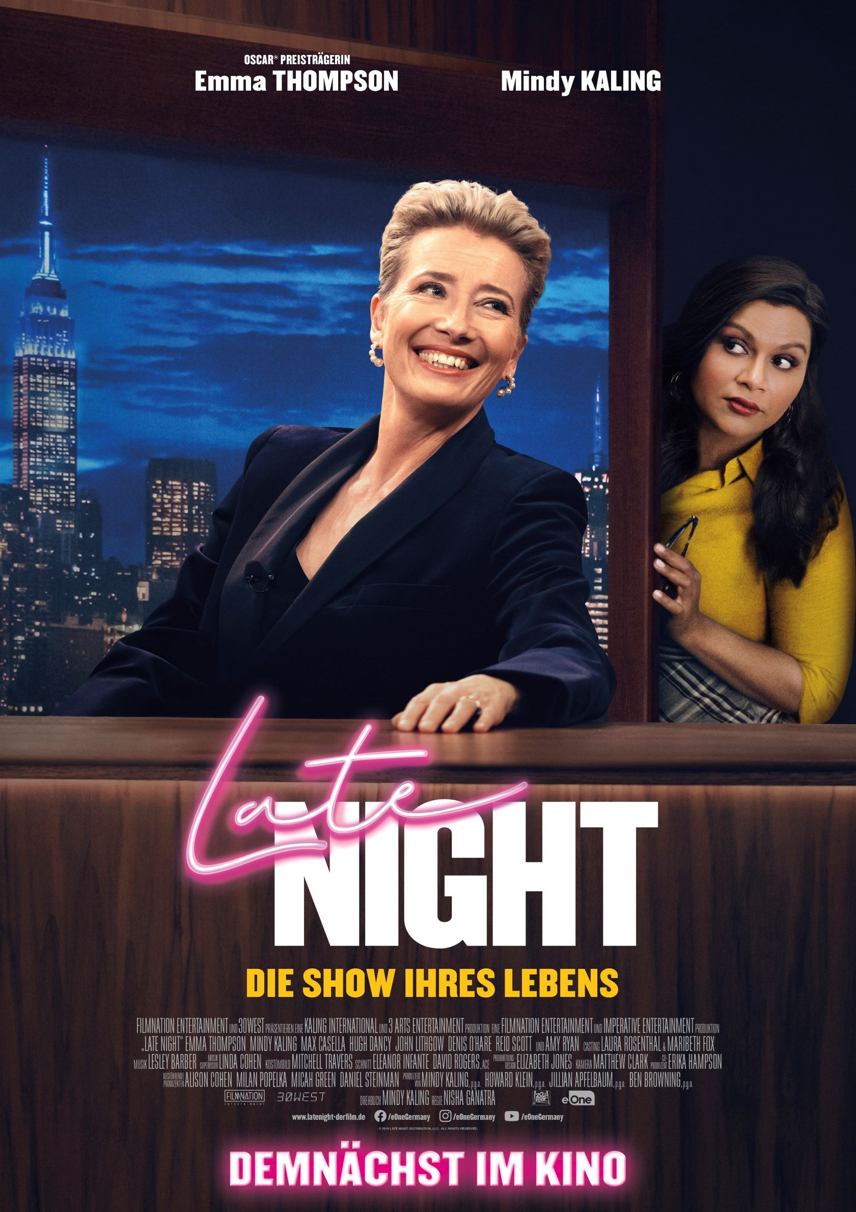Late Night - Die Show ihres Lebens © 2019 eOne Germany
