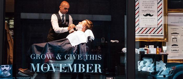 Movember: Wir zeigen Schnauzer und Solidarität.