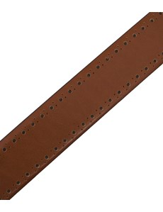 Men's Tan Leather Belt
