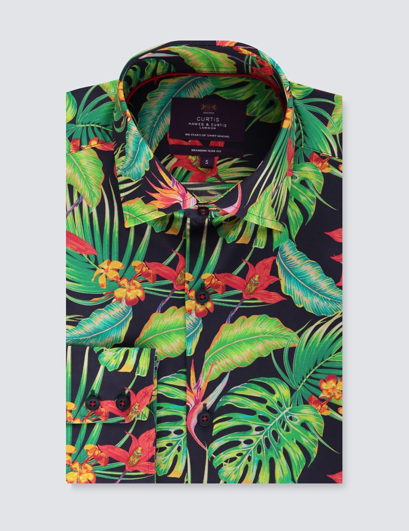 Casualhemd - Slim Fit - Brandon - Tropical Safari