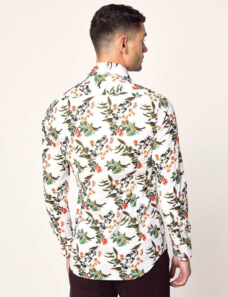 Casualhemd - Slim Fit - Brandon - Birds