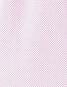 Men's Pink & White Pin Dots Cotton Boxer Shorts