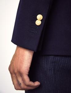 Men's Navy Italian Wool Jacket – 1913 Collection