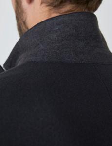 Men's Navy Italian Wool Blend Overcoat – 1913 Collection