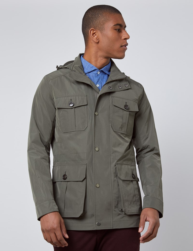 Men's Green Field Jacket