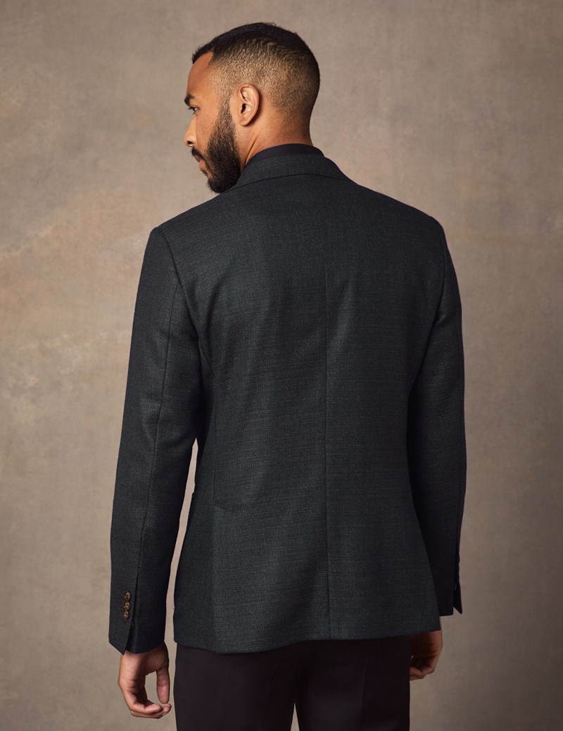 Men's Green Italian Wool Jacket - 1913 Collection