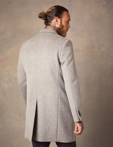 Men's Stone Wool Overcoat