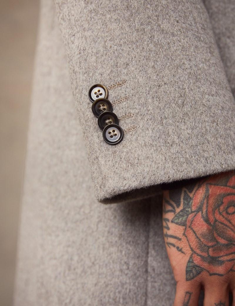 Men's Stone Wool Overcoat