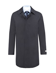Men's Classic Navy Raincoat