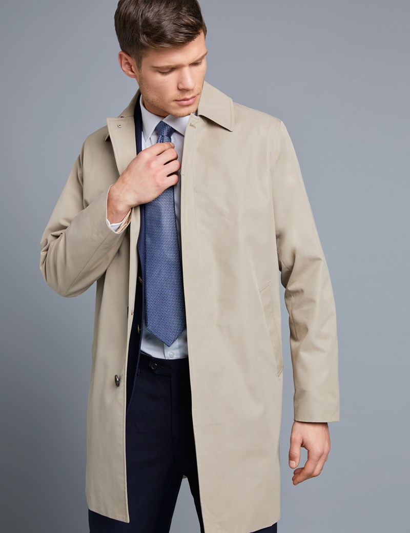 7339755fa Men's Stone Classic Raincoat