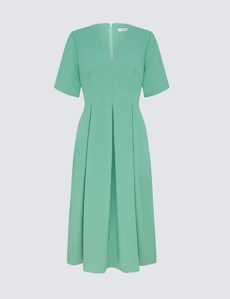 Women's Melly Midi Duck Egg Dress