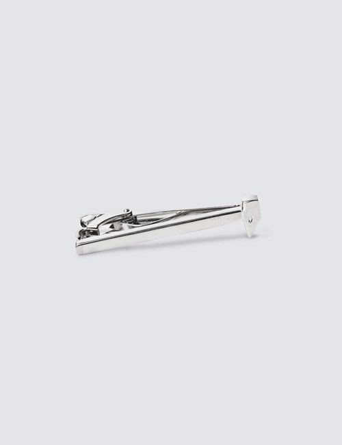 Men's Silver West Ham Tie Clip