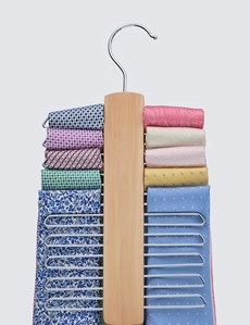 Men's Brown Tie Hanger