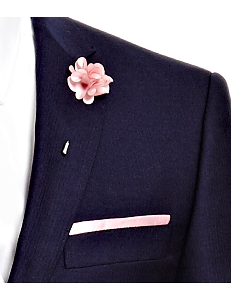Lapel Pin – Reversnadel – Rosa Seidenblüte
