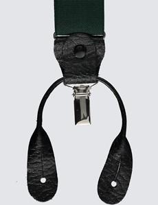 Men's Quality Green Braces