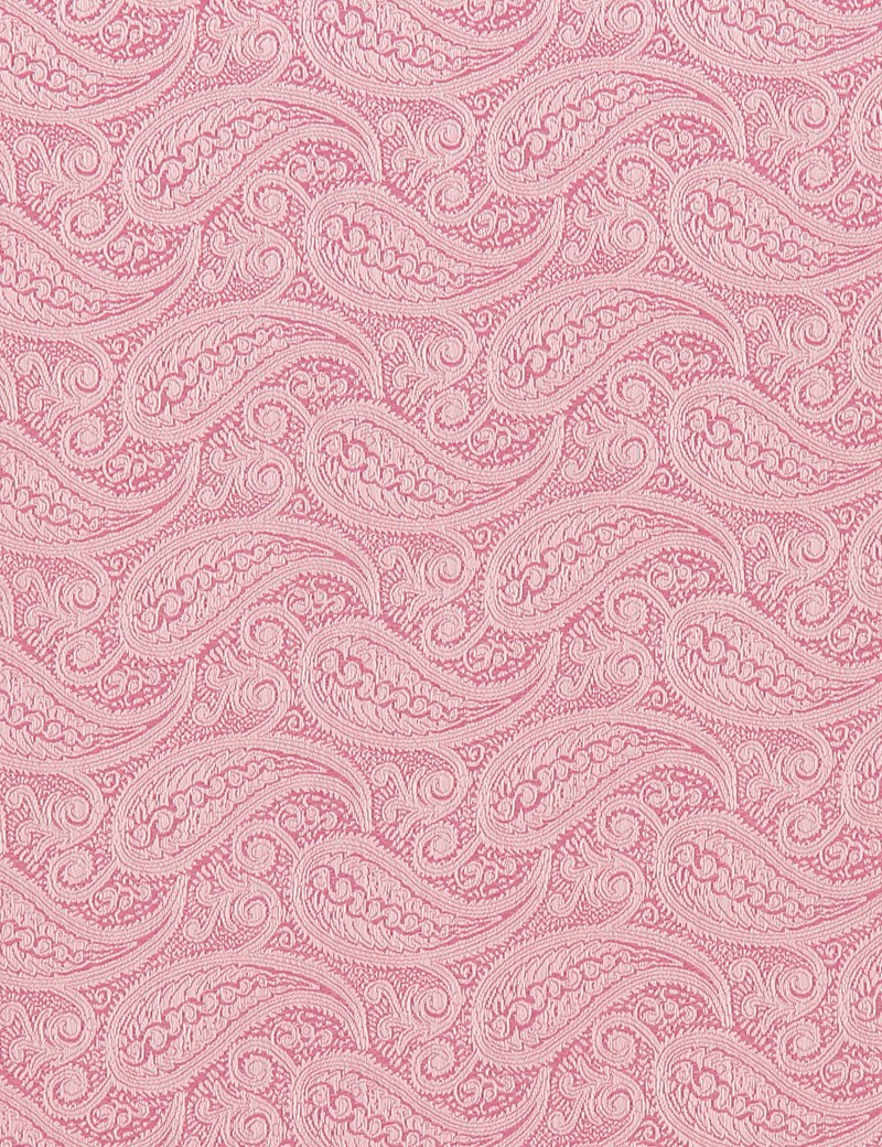 Hochzeits Kollektion – Einstecktuch – Seide – Paisley pink